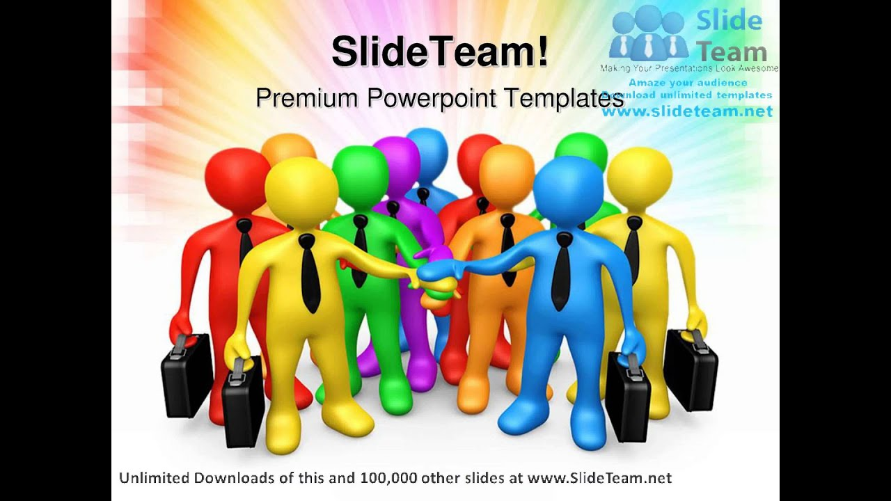 business team communication powerpoint templates themes and, Modern powerpoint