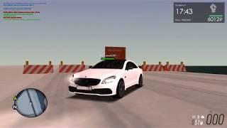 MTA Province beta 0.1.8   Mercedes cls 63 amg Тест Драйв!! Тачка ЖАРА!!!