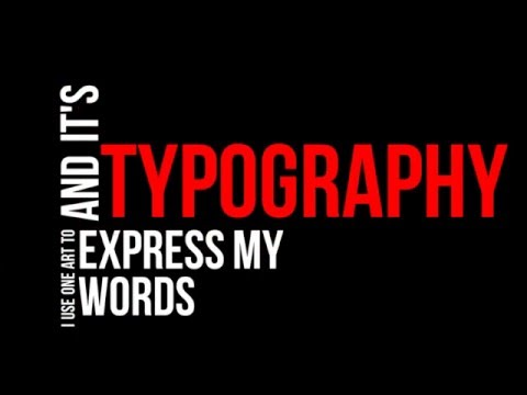 Sony Vegas Pro 12 - Typography Free template #4 - YouTube