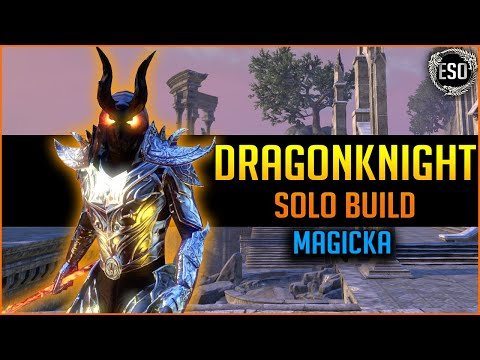 🔥Magicka Dragonknight Solo