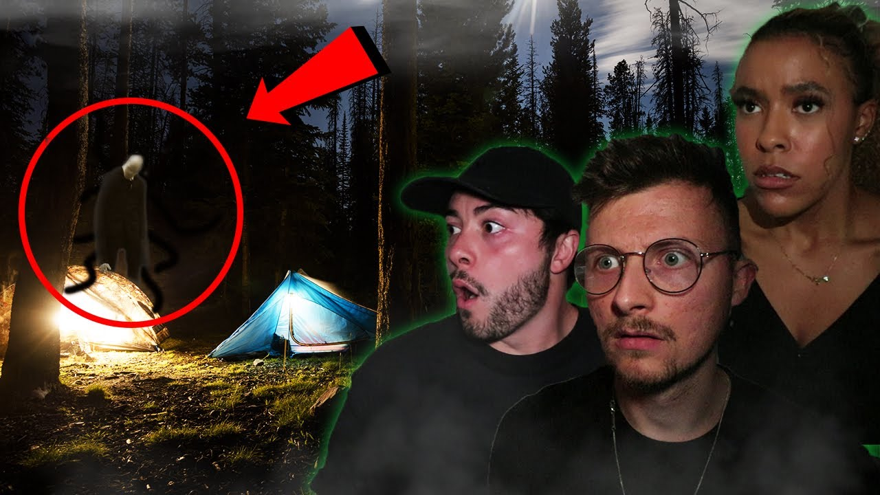Abandoned CAMPSITE Reveals Dark Secrets About SLENDERMANS FOREST