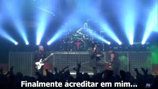 Three Days Grace - Let you down live at Nation 2014 (Legendado Brasil)