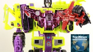2015 SDCC Transformers: Generations Combiner Wars Devastator Special Edition Set Review