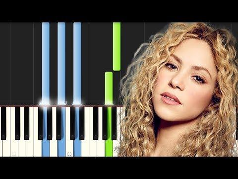 Antologia / Shakira / Piano Tutorial