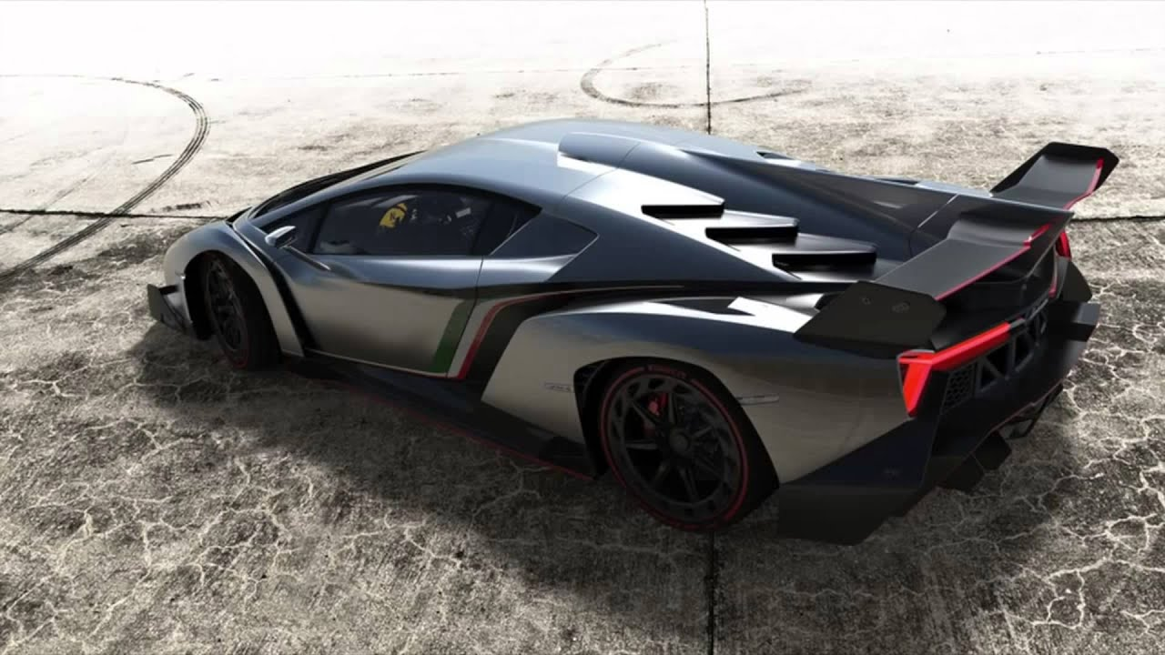 Lamborghini veneno top speed mph