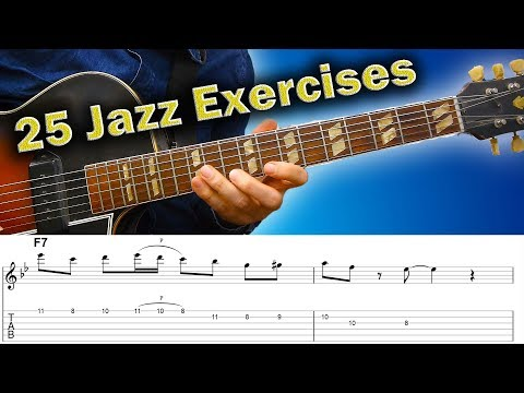 25 Jazz Guitar Exercises - How To Improve Skills In A Musical Way
