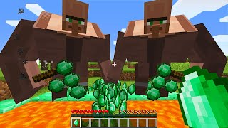 CURSED MINECRAFT BUT IT'S UNLUCKY LUCKY FUNNY MOMENTS PART 13