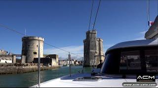 Stage formation ACM sur catamaran Nautitech Open 40 - Etape 1 - La Rochelle - Cascais (Lisbonne)