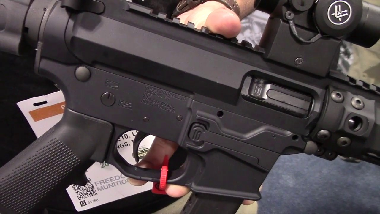 Quarter Circle 10 Pistol Caliber AR's
