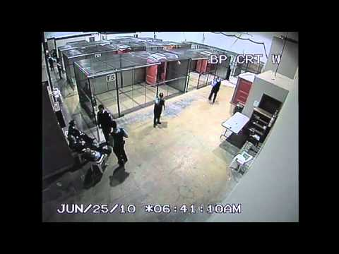 Police CCTV Footage of G20 Detention Center for the public record Part 4/6
