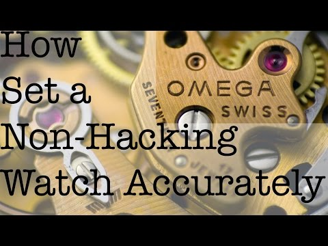 Setting a Non-Hacking Watch