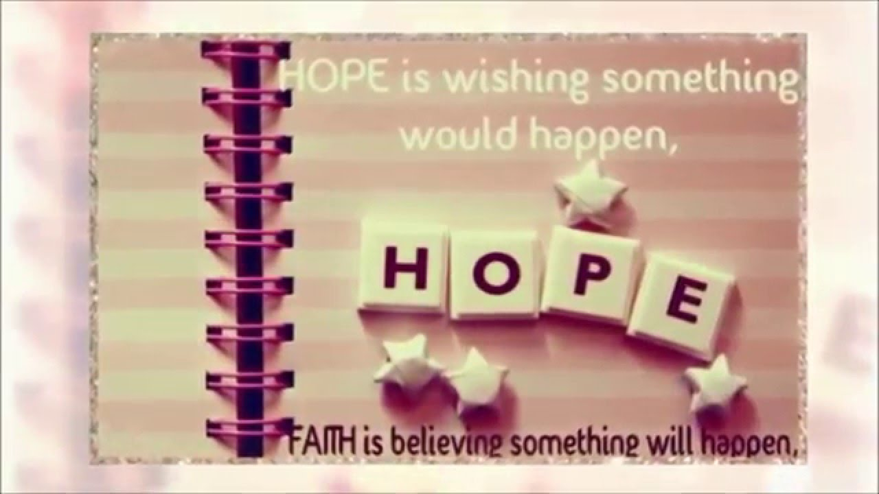 Quotes Hope Hope Quotes About Life  Youtube