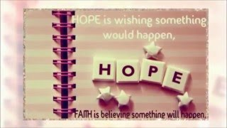 hope quotes about life