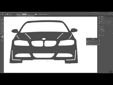 BMW Keychain - prepare files for cutting Tutorial thumbnail
