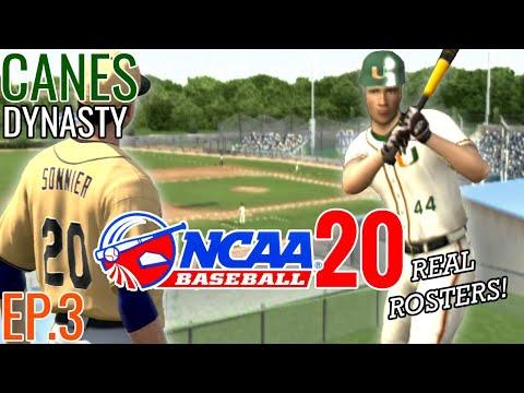 RECRUITING! Key Stretch | Miami Road To 2020 College World Series #3 | MVP 07 NCAA Baseball (PS2)