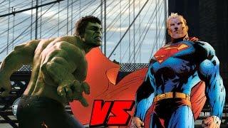 Superman VS Hulk (GTA 4 Mods)