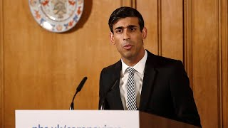 Watch again: Rishi Sunak announces £750 million boost for charities at daily Covid-19 briefing