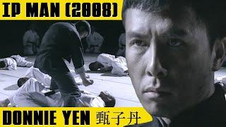 DONNIE YEN wants to fight 10 men  IP MAN (2008)