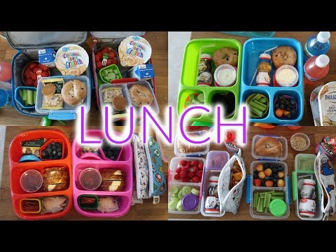 Kid's Lunch Ideas - Week 5 | Sarah Rae Vlogas |