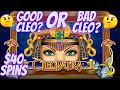 💵 $2500 HIGH LIMIT CLEOPATRA SLOT MACHINE $40 SPINS LIVE PLAY IN CASINO
