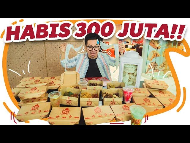 BORONG WARTEG VIRAL SAMA TOKONYA SAMPAI 300 JUTA !!