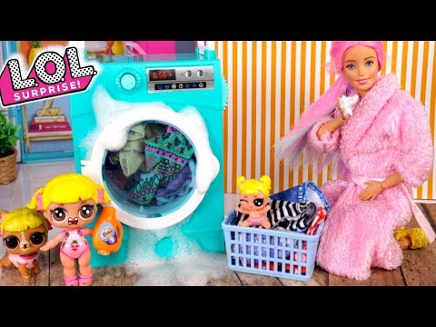 Barbie LOL  Mommy is Sick  - Will Baby Goldie Save the Day?