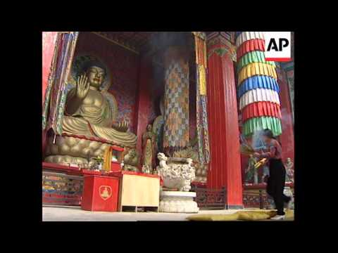 CHINA: BUDDHISM IS MAKING A COMEBACK