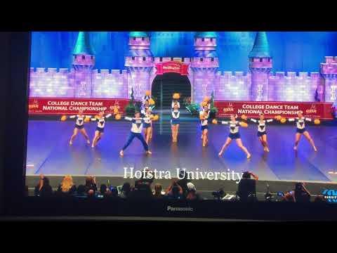 Hofstra University Dance Team Pom NATIONAL CHAMPIONS 2018