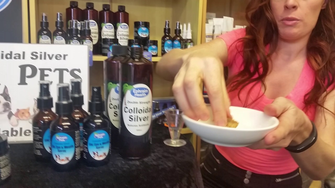 How to give your dog Colloidal Silver