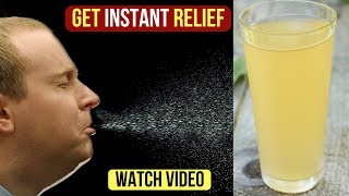 Try Instant Home Remedies for Nasal Congestion Relief, Sinusitis, Cold, Stuffy Nose