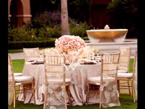 DIY Elegant wedding party decorations YouTube