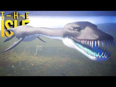 The Isle - Encontramos Um Predador Aquático, Protegendo Meu Filhote! | Dinossauros (#199) (PT-BR)