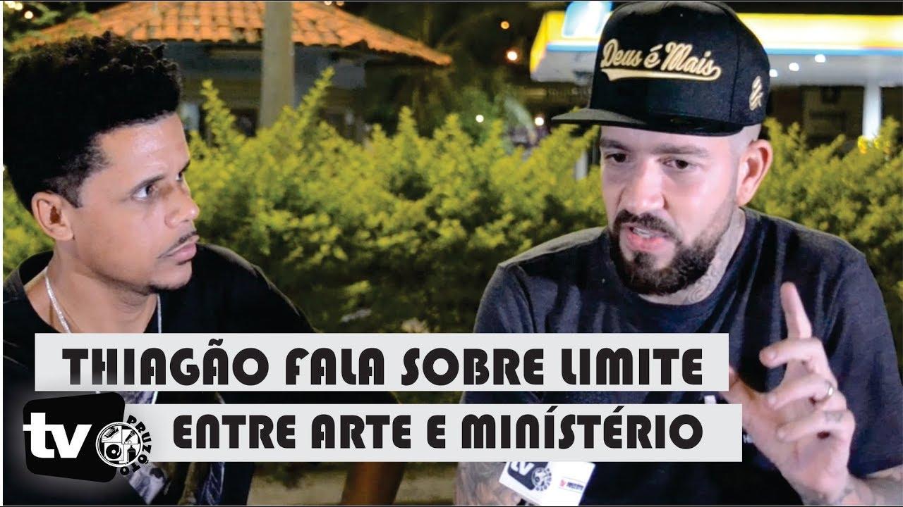 THIAGÃO (rapper gospel) | ENTREVISTA EM BH 2019 - TV PRUZOTO