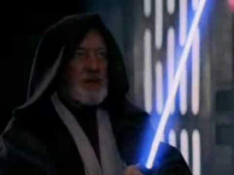 YouTube - Star wars lightsaber battles- No Easy Way Out remix.flv