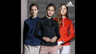 아디다스 골프 정품 여성 프로-웜 티셔츠, 아디다스 골…