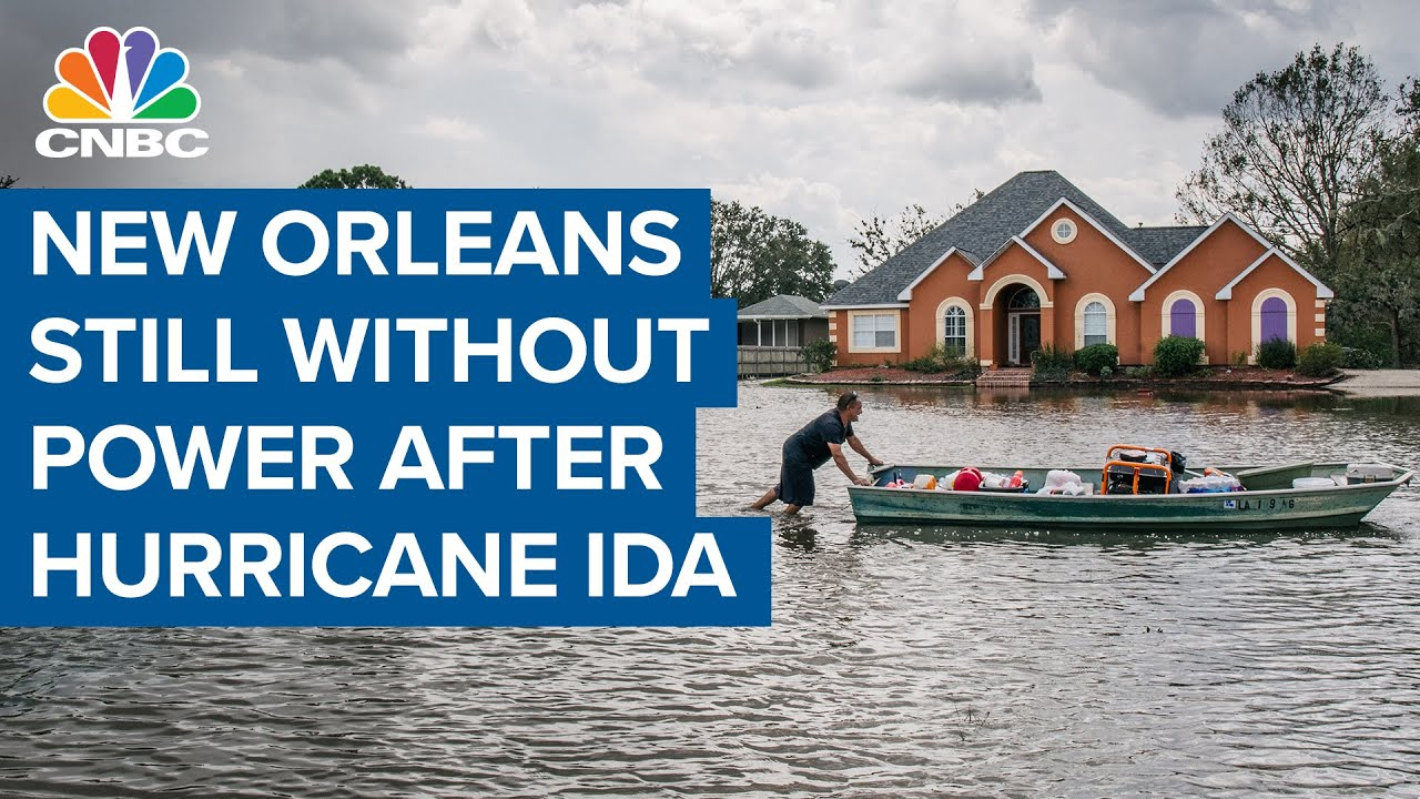 Ida left more than 1 million without power, possibly for weeks. And ...