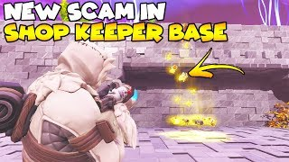 I Lost Everything in Shop Keeper Base! 😱 (Scammer Gets Scammed) Fortnite Save The World