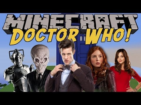 DOCTOR WHO in MINECRAFT!! Minecraft Doctor Who Mod (Minecraft Mod)