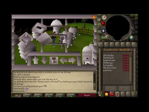 Old School Runescape Random Events: Beehive Building
