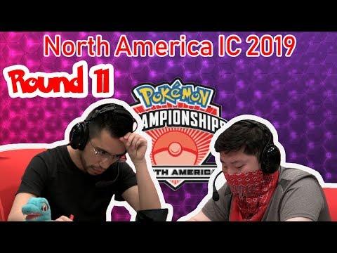 Round 11 Rene Alvarenga Vs James Baek - 2019 Pokémon North American International Championships VGC