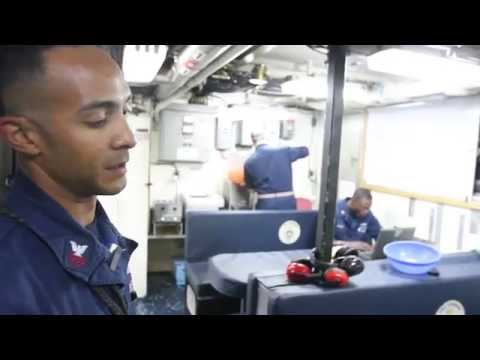 Coastal Patrol Ship Crew Living Spaces Tour