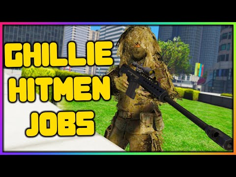 GTA 5 Roleplay - GHILLIE SUIT HITMAN JOBS | RedlineRP