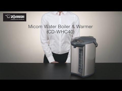 Zojirushi Micom Water Boiler & Warmer CD-WHC40
