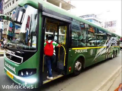 Bangalore volvo ,corona & mercedes benz buses  !!!!!