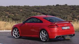 2017 Audi RS TT Coupe and Roadster