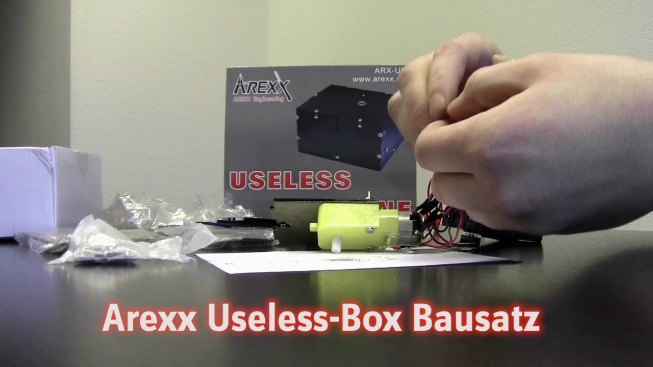 Useless Box Bausatz : useless box bausatz youtube ~ Watch28wear.com Haus und Dekorationen
