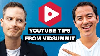 Tips for New YouTubers from VidSummit