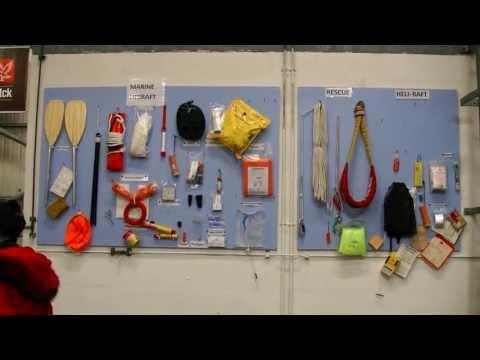 Offshore survival training in Falck Nutec