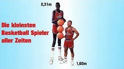 Die kleinsten Basketball Spieler aller Zeiten in der NBA