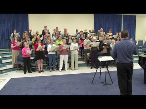 2015 Columbia Choral Society Spring Concert Rehearsal Highlights